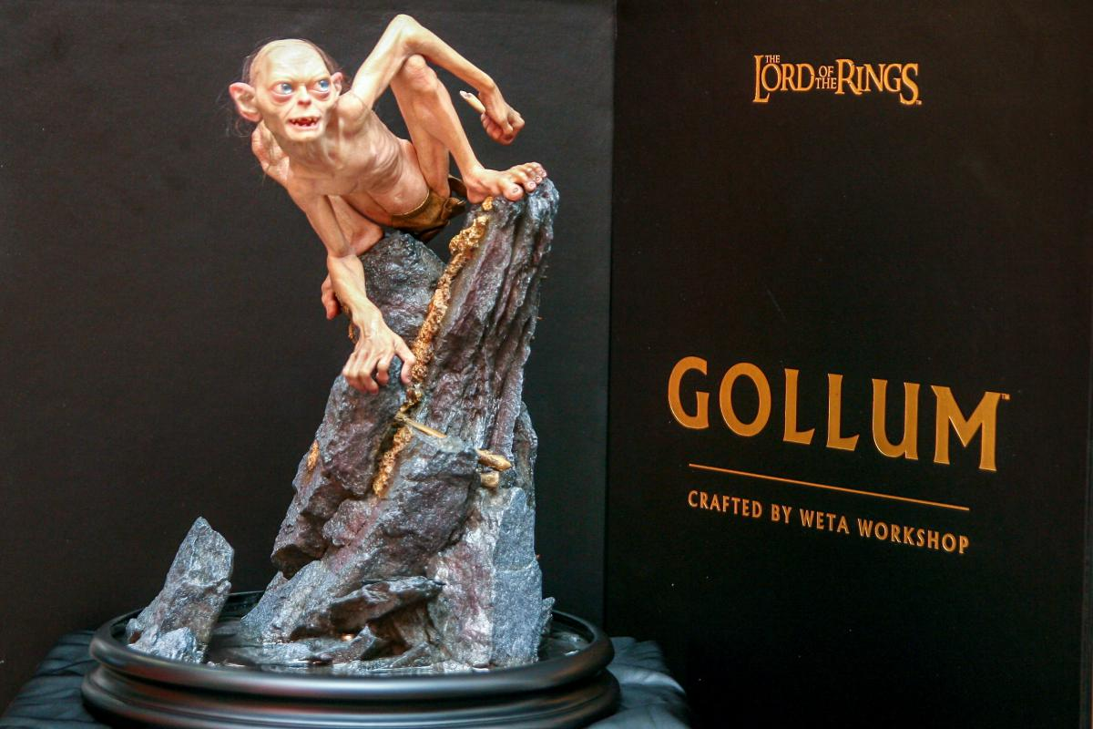 Handcrafted Gollum Maquette