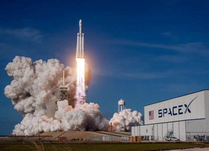 Space X Launch with VIP Viewing