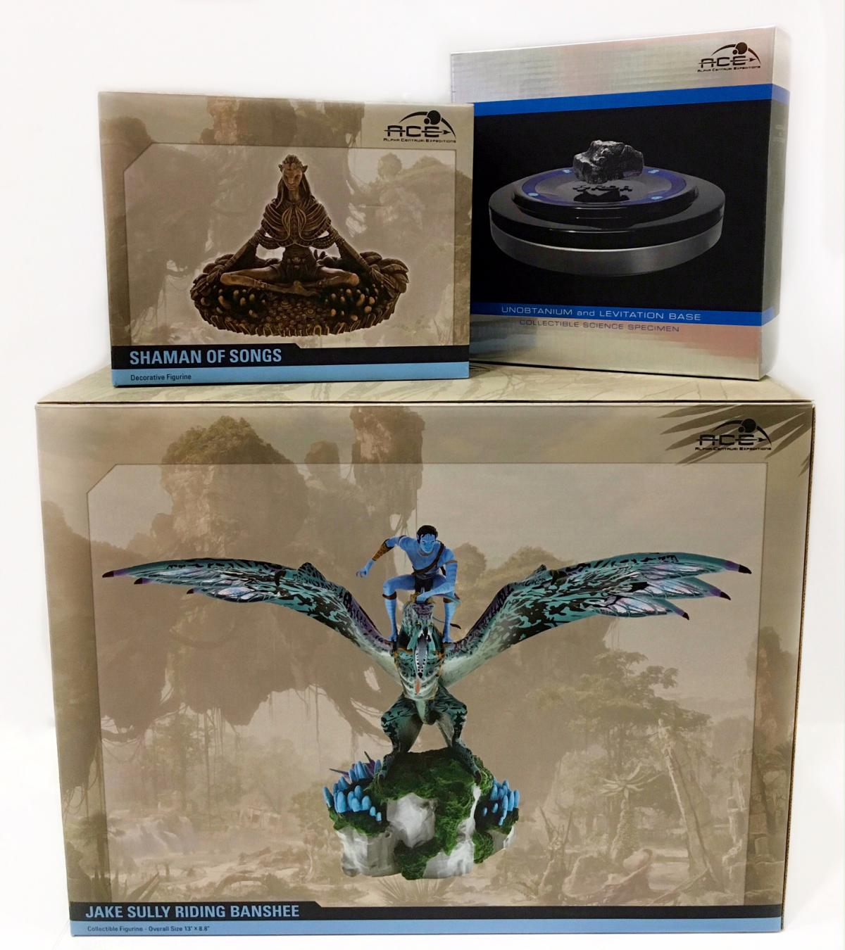 Alpha Centauri Expeditions Jake Sully riding Banshee Collectible Figurine