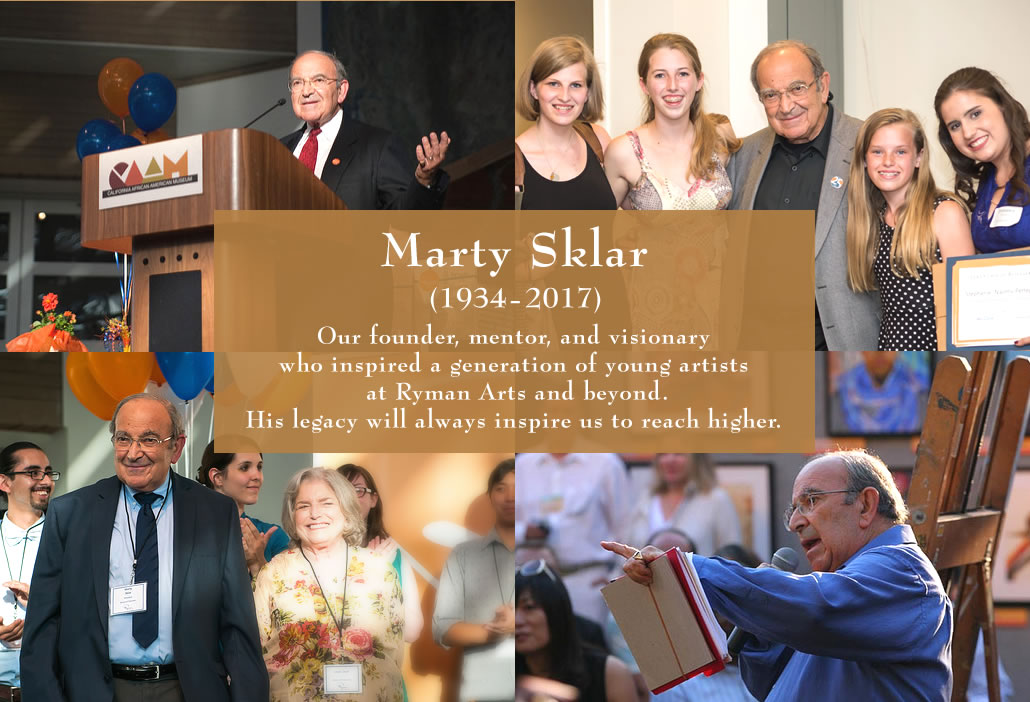 Marty Sklar at Ryman Arts