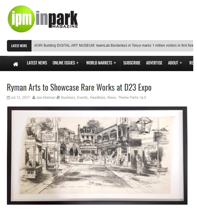 InPark Magazine: Ryman Arts to Showcase Rare Works at D23 Expo