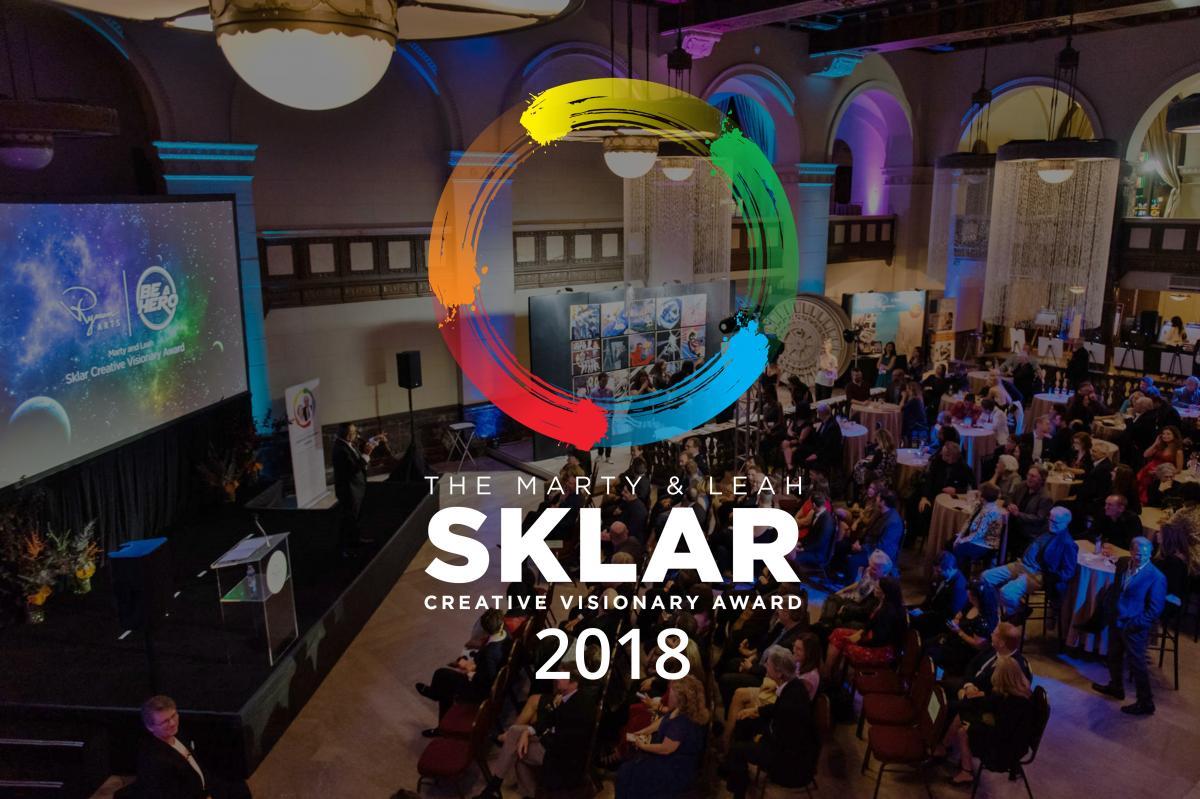 Ryman Arts 2018 Sklar Creative Visionary Award Celebration