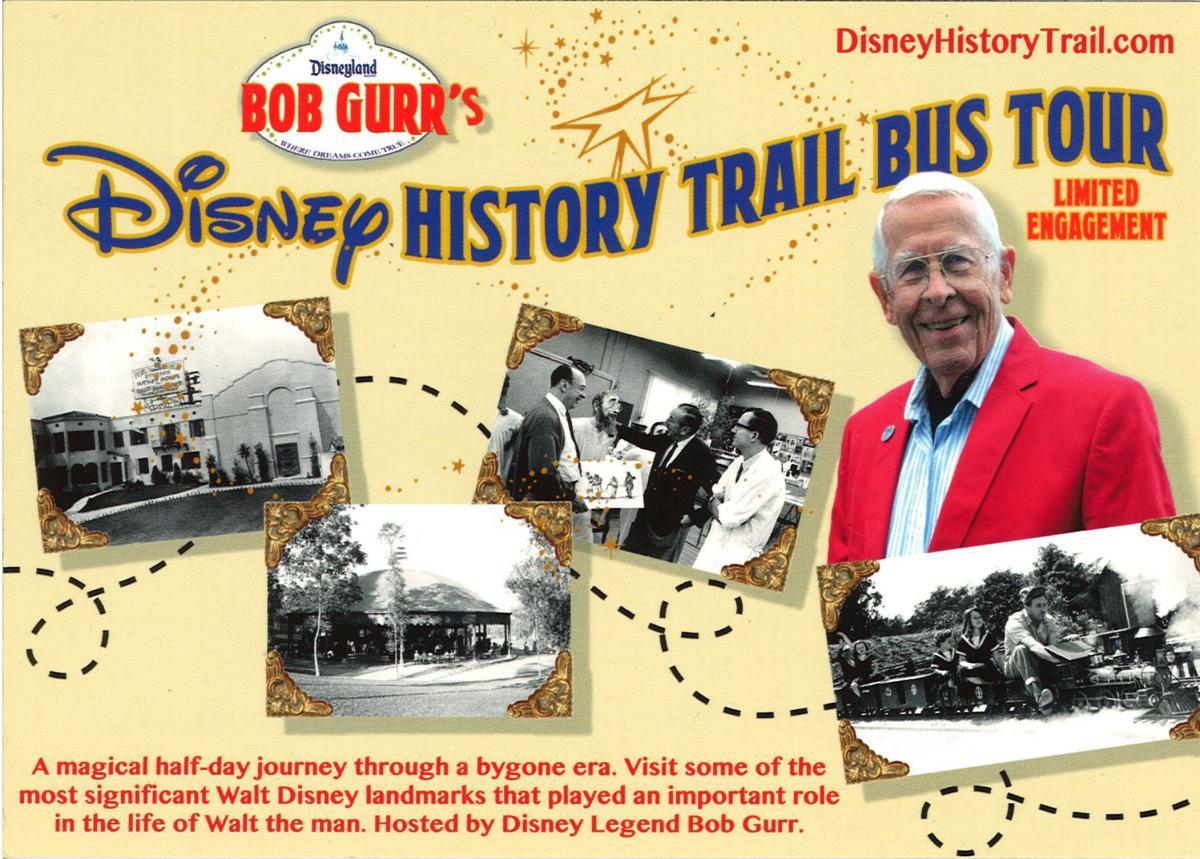 Ride through Disney history with Bob Gurr