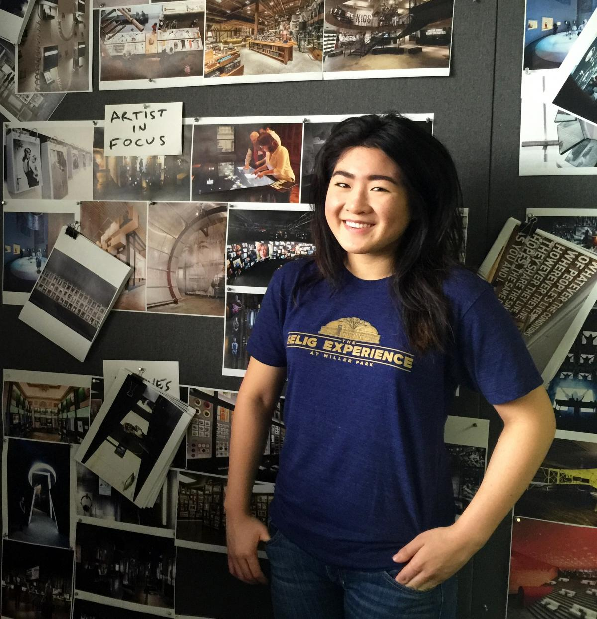 Ryman Arts Internship at BRC Imagination Arts Ashley Cheou (Ryman '13)