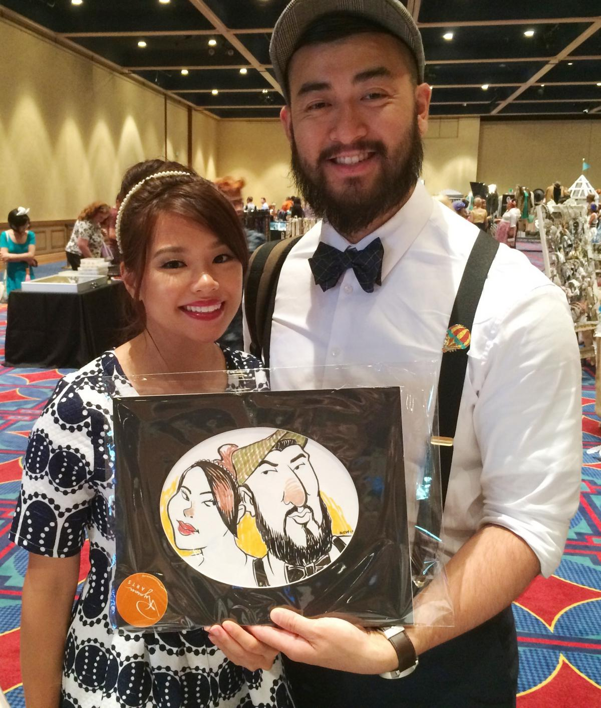 Ryman Arts Sketch Studio at Dapper Day Expo | Ryman Arts