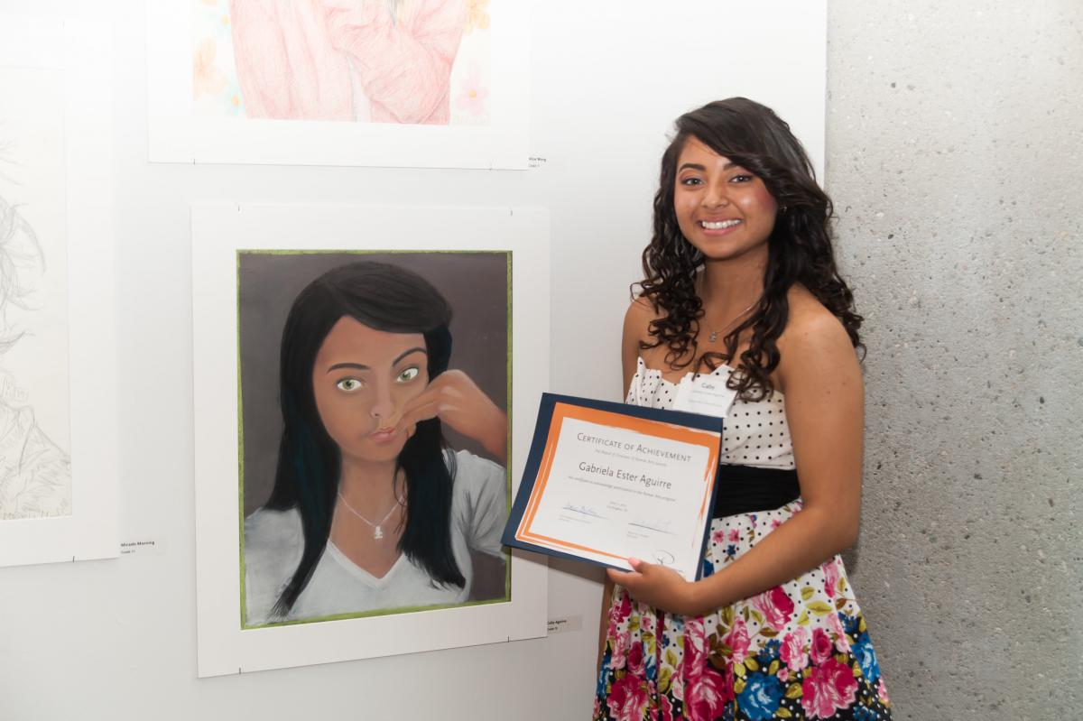 Ryman Arts Scholarship to Idyllwild Arts Summer Program Gaby Aguirre (Ryman '15)