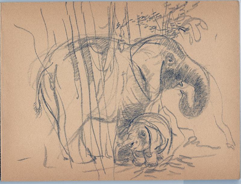 Herbert Ryman Circus Artwork