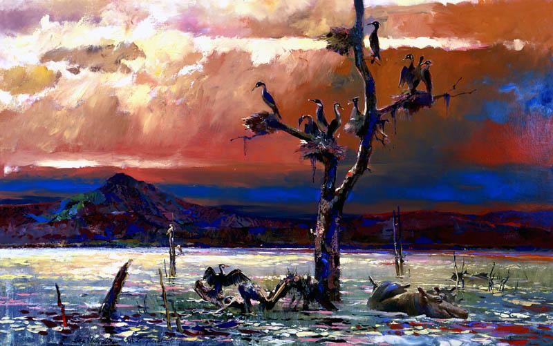 Herbert Ryman Landscapes Artwork