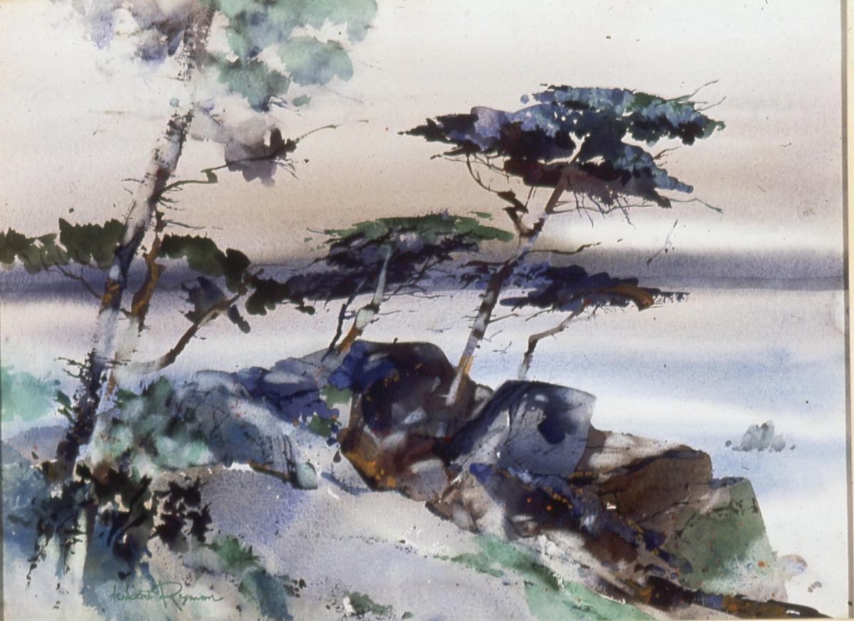 Herbert Ryman Travels Artwork