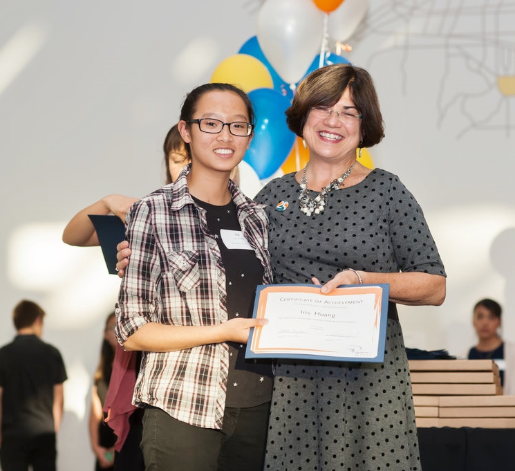 Ryman Arts Scholarships to Otis Summer of Art Iris Huang (Ryman '15) and Diane Brigham