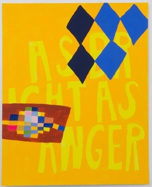 As Bright As Anger artwork by Lukaza Branfman-Verissimo (Ryman '09)