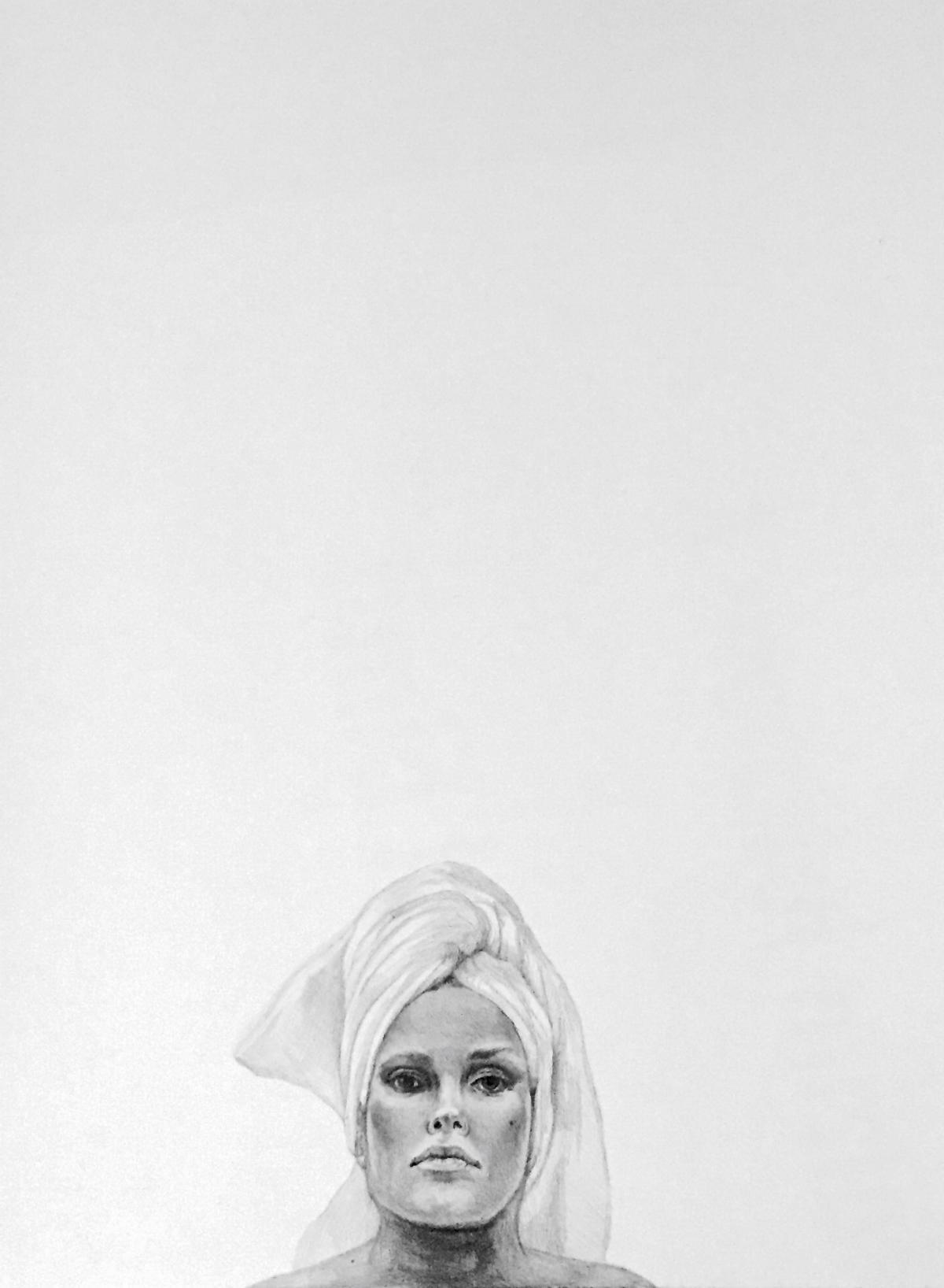 White Towel Veil (2016) by Michelle Wiener Ohm (Ryman '00)