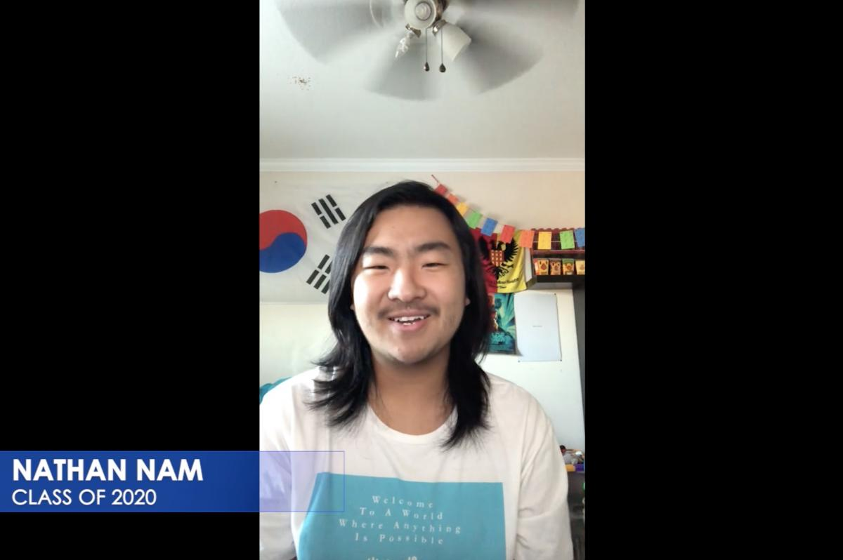 Graduate Nathan Nam (Ryman '20) is grateful to have befriended many dedicated young artists like him