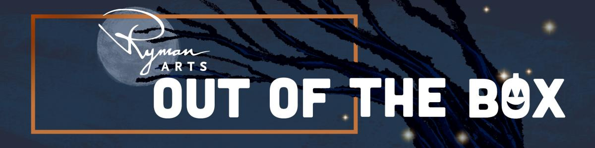 Ryman Arts Out of the Box October 2020 Halloween Banner