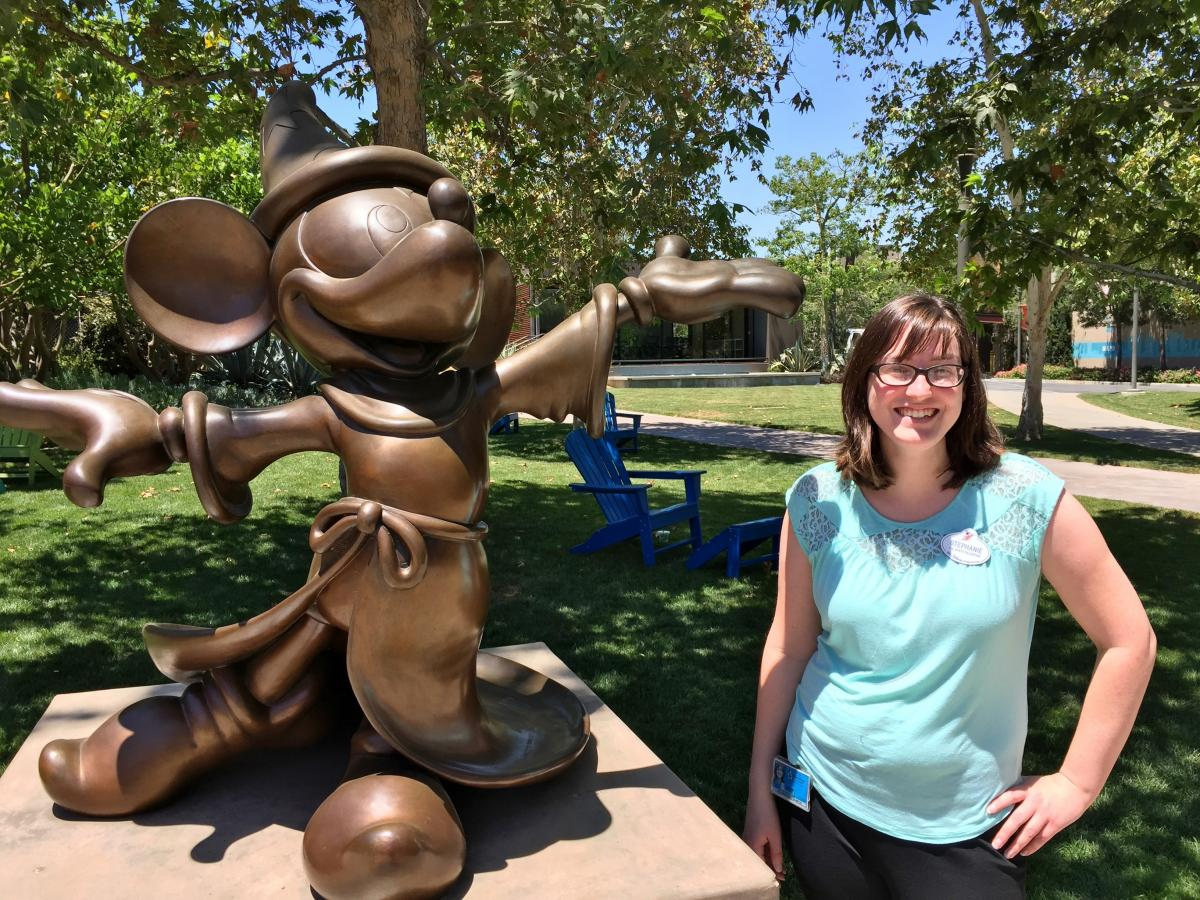 Ryman Arts Sklar Internship at Walt Disney Imagineering Stephanie Burtner (Ryman '09)