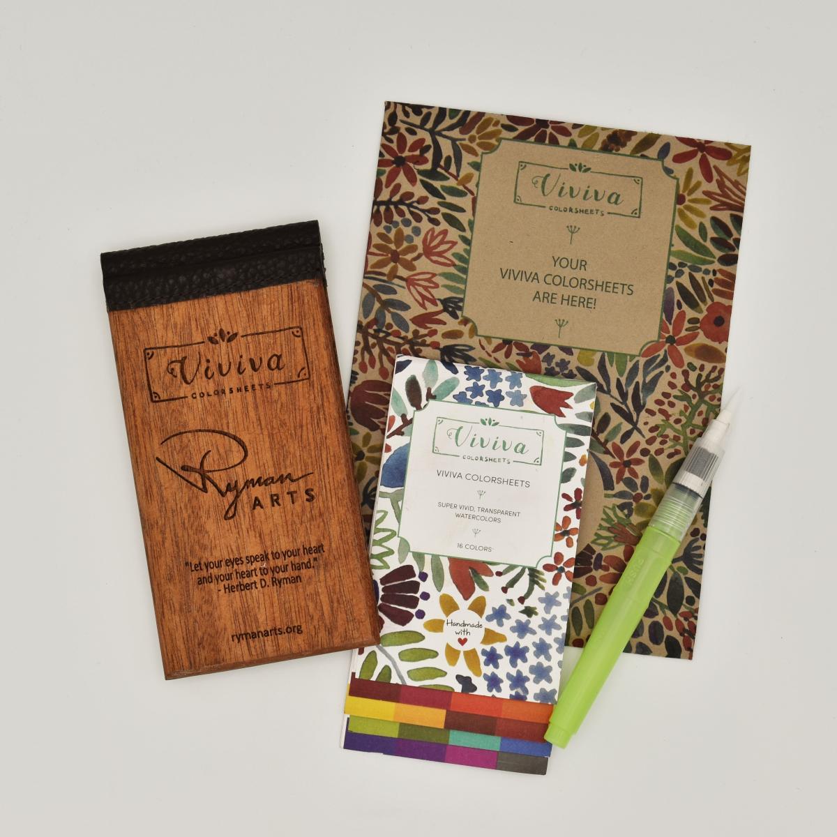 Shop the Ryman Arts Watercolor Travel Gift Set