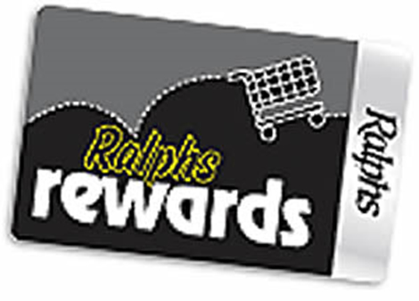 Ralphs Rewards Card