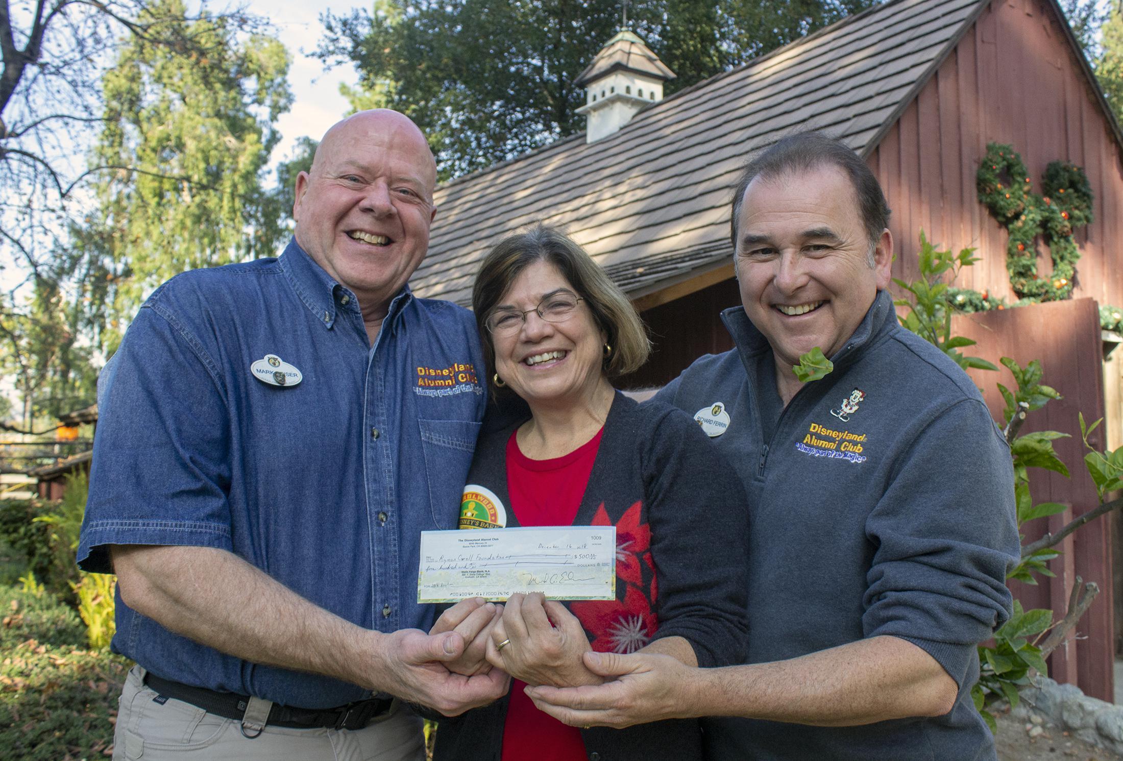 The Disneyland Alumni Club helps out Ryman Arts | Ryman Arts